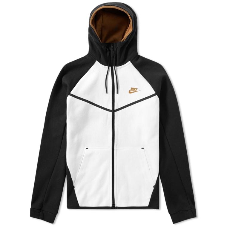 nike fleece hoodie mens gold