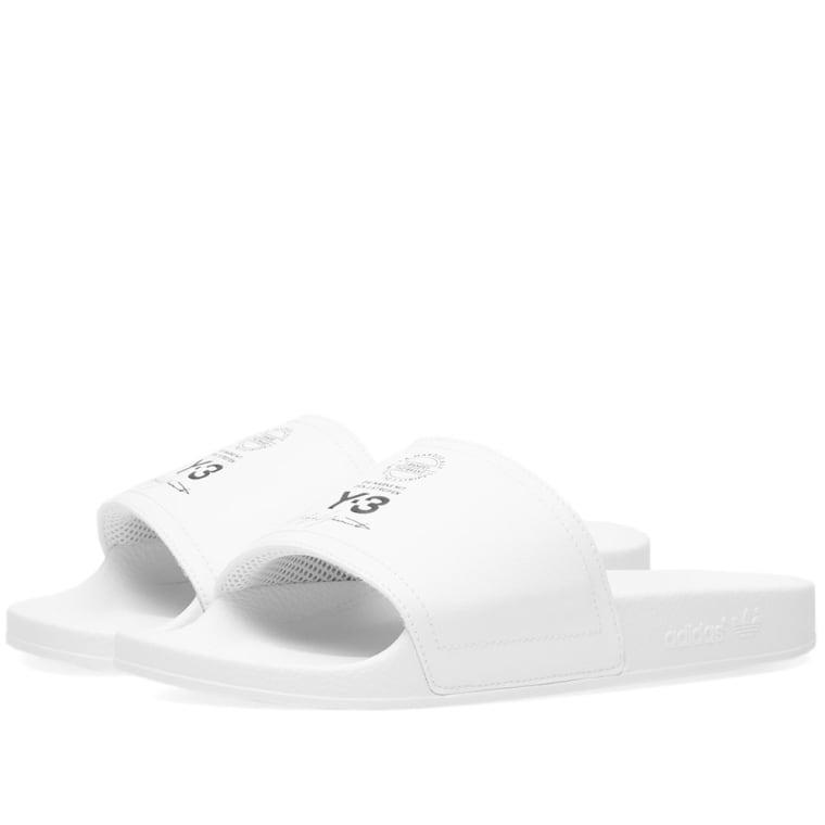 1da021fecb95 Y-3 Adilette (White)