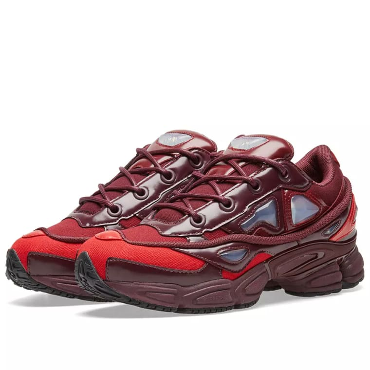 adidasAdidas x Raf Simons Ozweego III Burgundy/ Maroon/ Scarlet