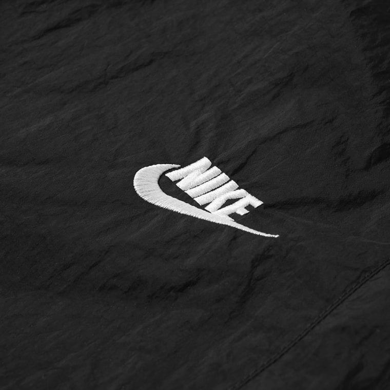 Nike Swoosh Woven Pant Black White End