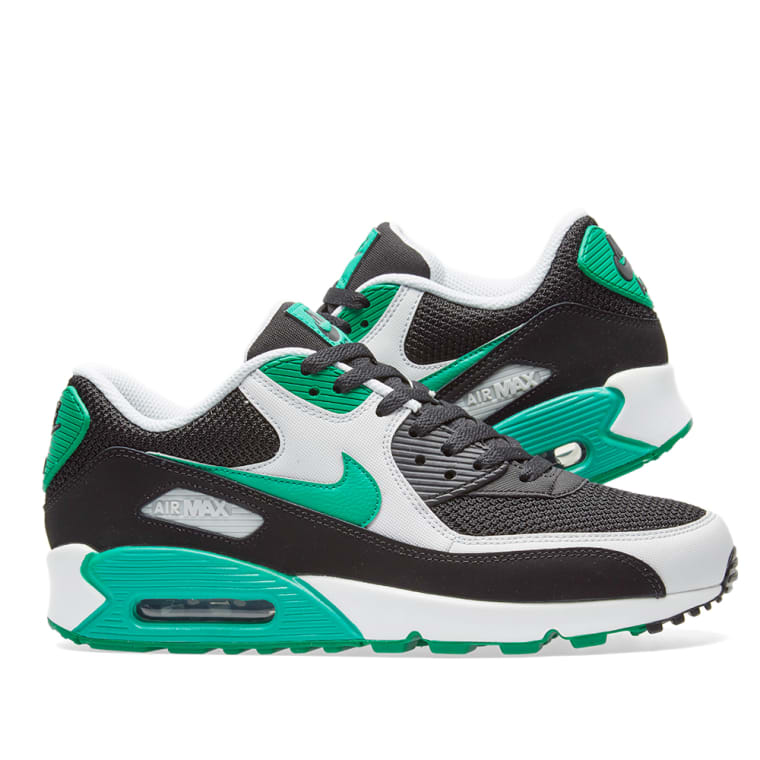 60de8ba30664 ... france nike air max 90 essential black stadium green white 6 607e1 292ce