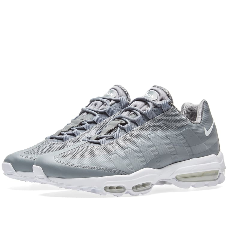 timeless design b5728 85578 ... Nike Air Max 95 Ultra Essential Cool Grey White ...
