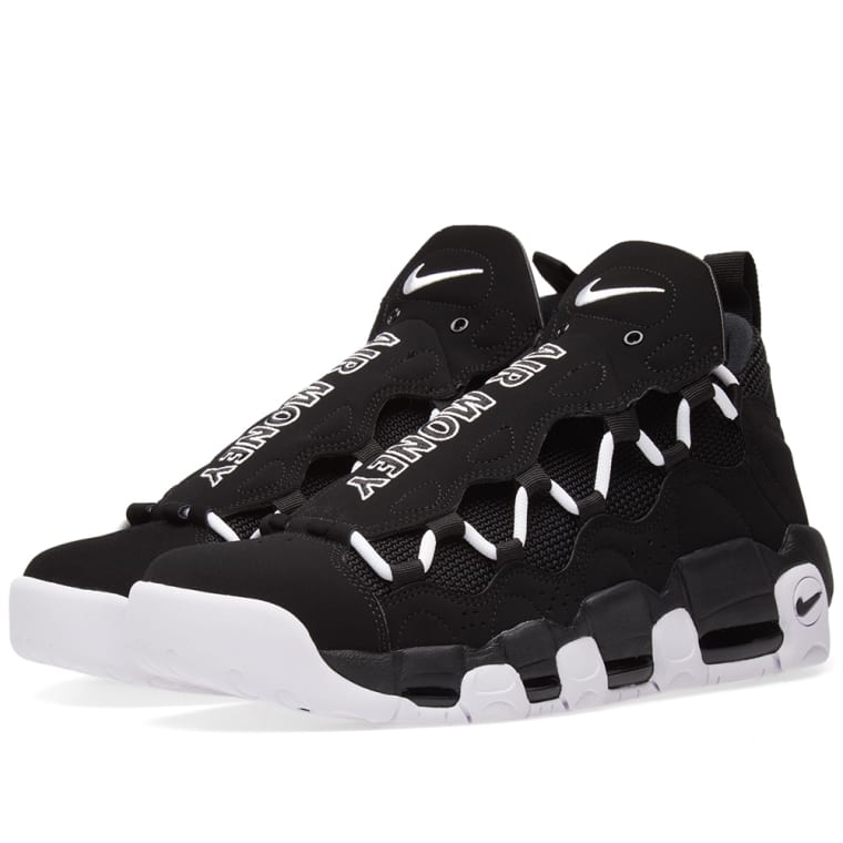 new concept 865db 3909c ... purchase nike air more money black white 1 59093 7416d