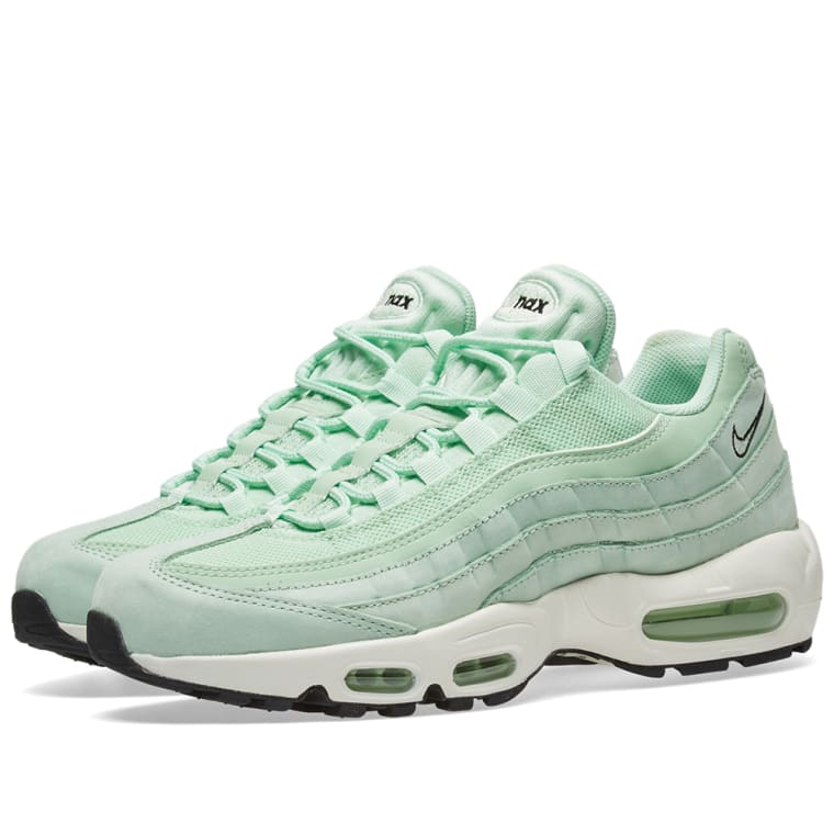 nike w air max 95 fresh mint black end. Black Bedroom Furniture Sets. Home Design Ideas