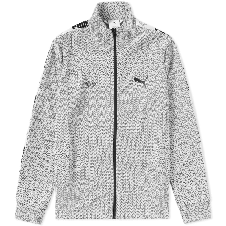 Puma x Diamond Track Jacket (Puma White)  55768fb37bdf