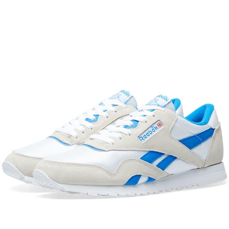 fe953de767d Reebok Classic Nylon OG W (White   Cycle Blue)