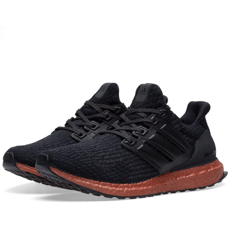 hot sale online e00fa 1c641 ... sale adidas ultra boost core black tech rust 1 884bc 16276