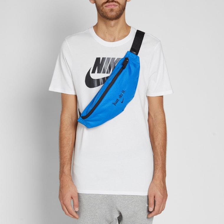 f162a3b445 Nike Heritage Hip Bag (Signal Blue   Black)