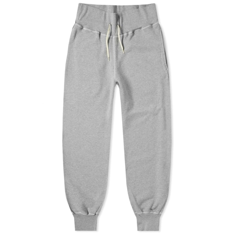 SPALWART TEAM BAGGY SWEAT PANTS in GREY MELANGE