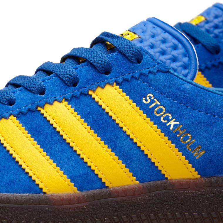 100% authentic a6e0b f2e0a Adidas Stockholm OG Blue  Yellow 5