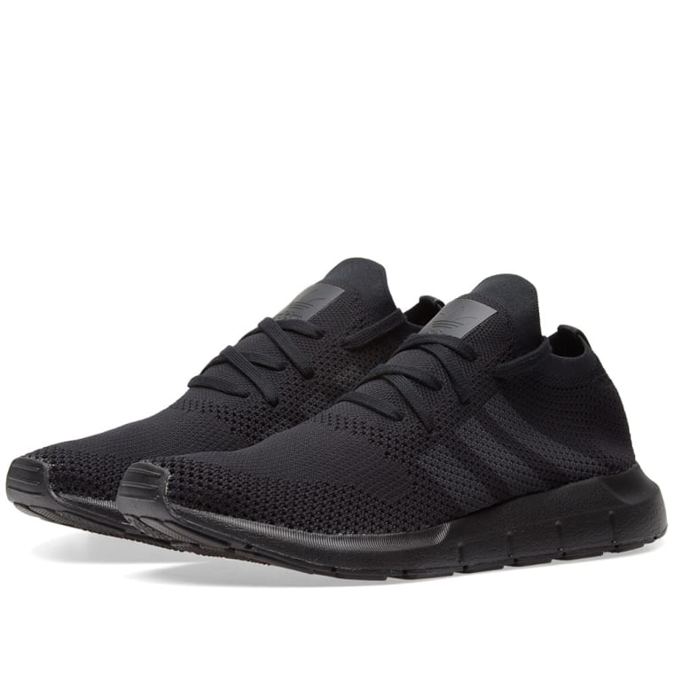 big sale 8c735 ec8c7 Swift Run Primeknit Shoes Black CQ2893 Adidas Swift Run PK Core Black Grey  Five ...