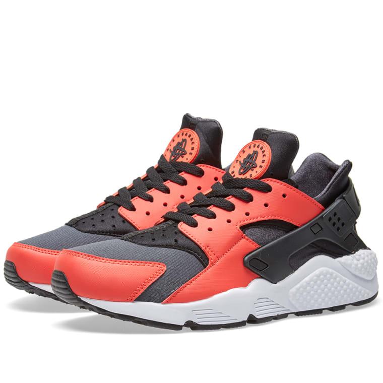 Nike Air Huarache Max Orange, Black \u0026 Anthracite 1