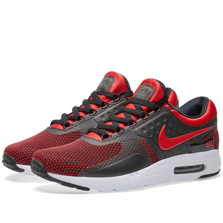 huge selection of 51d5f 5f766 ... Nike Air Max Zero Essential University Red Black ...