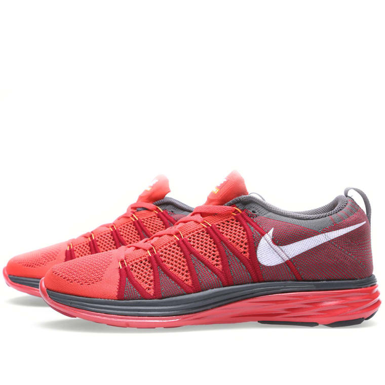new product 0300b fb8c5 hot nike flyknit lunar 2 light crimson 5 f5784 0d3b9