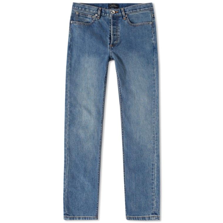 f4bd693a798ad A.P.C. Petit New Standard Jean (Washed Indigo)   END.