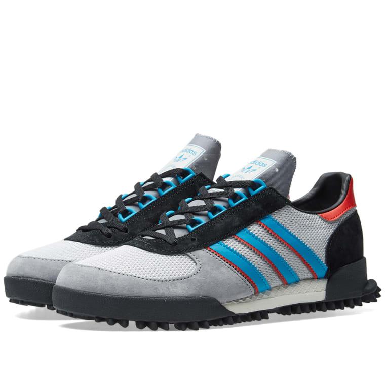 Adidas Marathon TR (Grey, Chalk White   Core Black)   END. 1d6cc2d413
