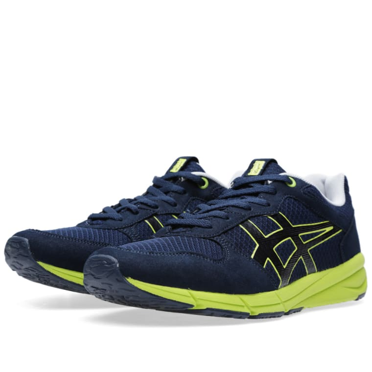 Onitsuka Tiger Shaw Runner - Navy/Lime 2017 New