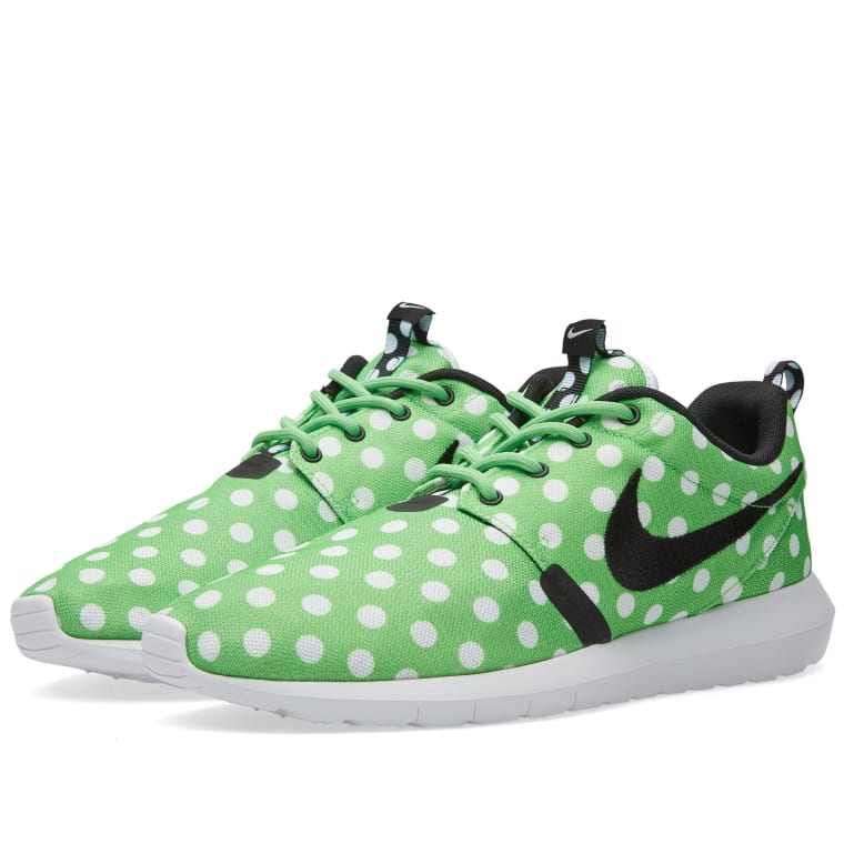 52c052f159c0 Nike Roshe NM QS  Polka Dot  (Green Strike