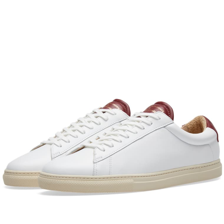 Zespa contrast tongue sneakers