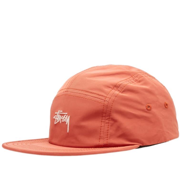 Stussy Stock Nylon Poly Camp Cap (Orange)