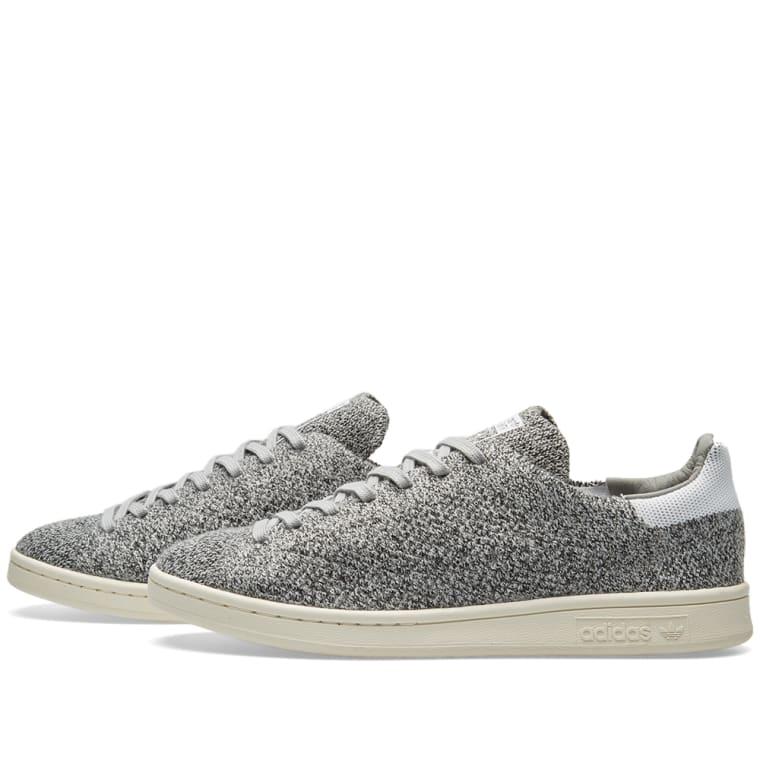33552b10eadb8f Adidas Stan Smith PK (Solid Grey   White)