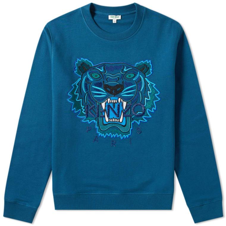a27b7089 Kenzo Tiger Sweat (Blue) | END.