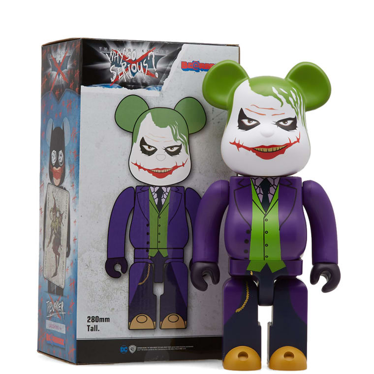 acc9c5baa8dd Medicom x Batman Joker Laughing Be rbrick (Multi 400%)