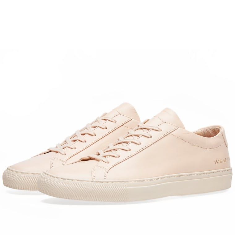 Sneakers for Men, Grey, Leather, 2017, 8 Common Projects