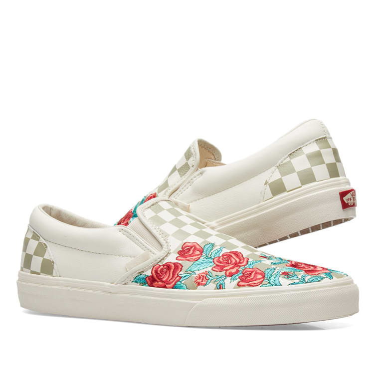 Buy vans slip on dx rose embroidery - 55% OFF! Share discount f27a4ae6d