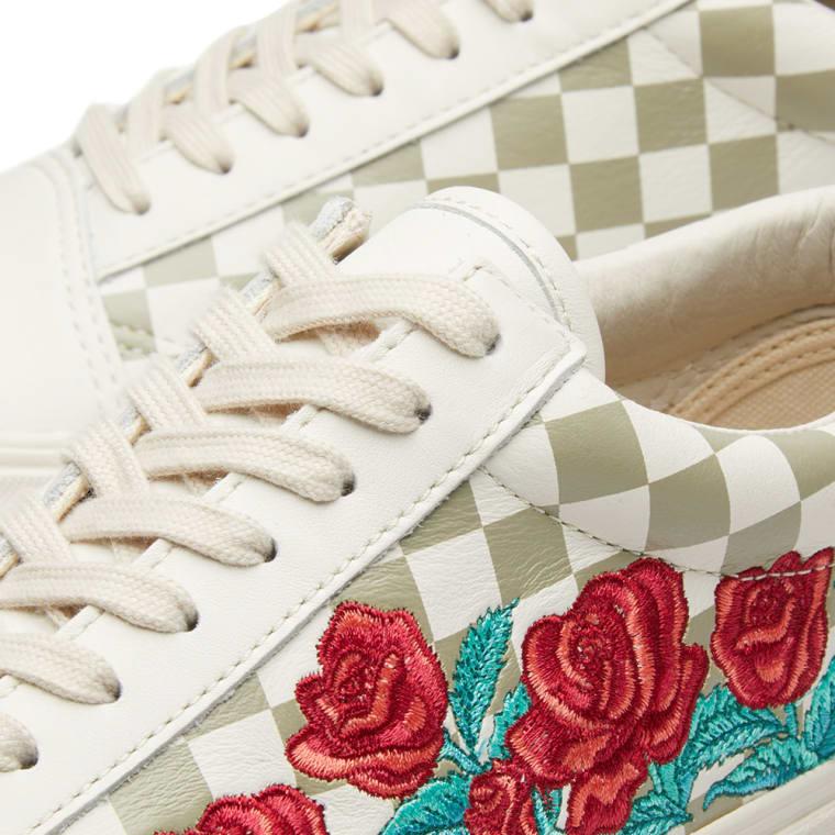 91cb96e35b4 ... Vans Old Skool DX Rose Embroidery (Marshmallow Turtledove) END. sale usa  online ecd3d ...