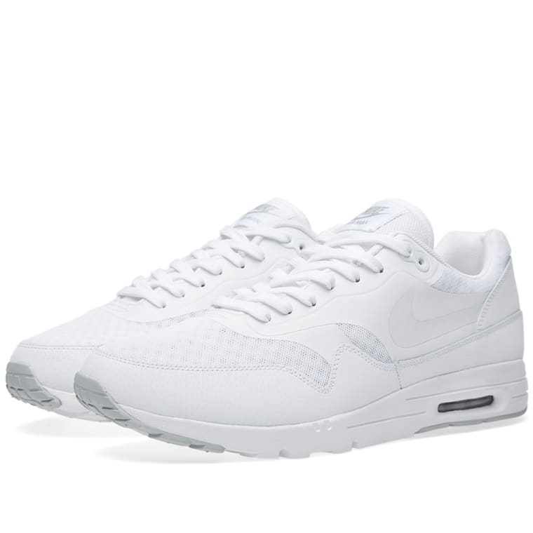 competitive price 56344 1131f ... denmark nike air max 1 ultra moire white metallic silver 1 d41fa ea2e4