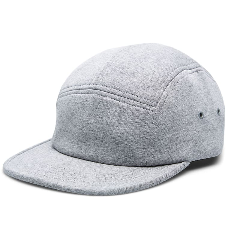 Norse Projects Neoprene 5 Panel Cap (Mouse Grey Melange)  0468624909b