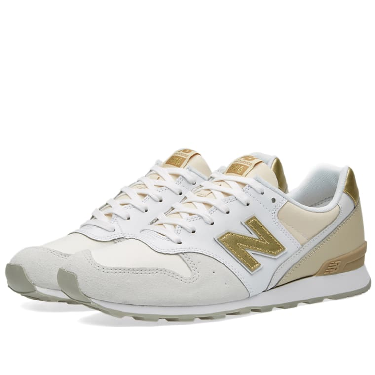 New Balance WR996IE. Beige, White \u0026 Gold