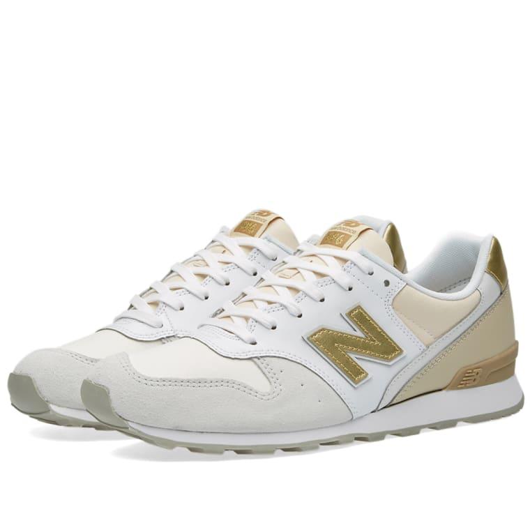 New Balance WR996IE. Beige, White \u0026 Gold