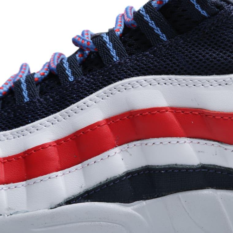 Utility Nike Air Max 95 OG Blue Red 624519 446 Men's Running Shoes