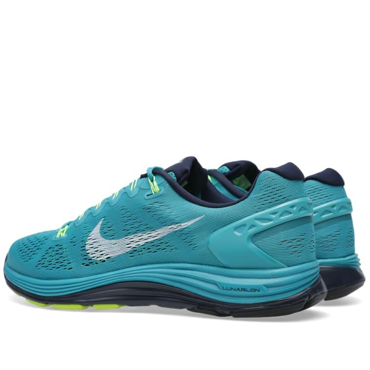 f2cd9b6e7a73 Nike Lunarglide+ 5 (Tribe Green   White)