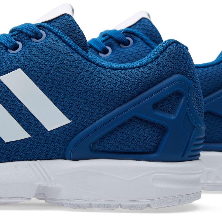 f5edd87427688 ... Adidas ZX Flux Dark Marine White 2 ... adidas originals Zx Flux  Sneakers Clear Onix Core Black Ftwr White Men´ ...