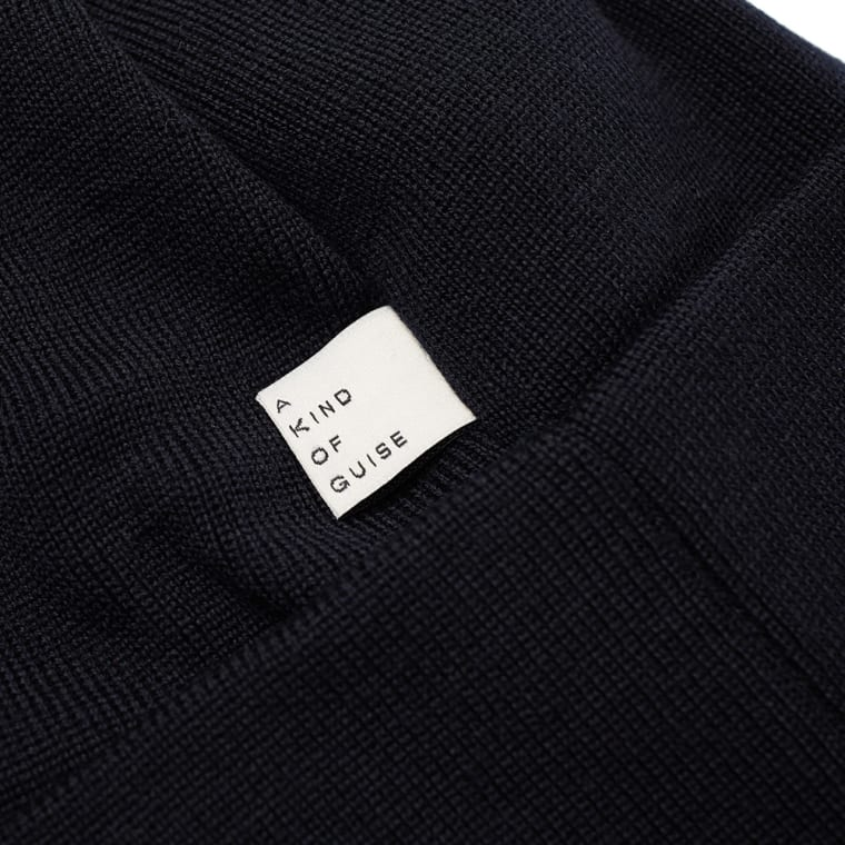 A Kind of Guise Merino Wool Beanie (Navy)  bb49c89f142c