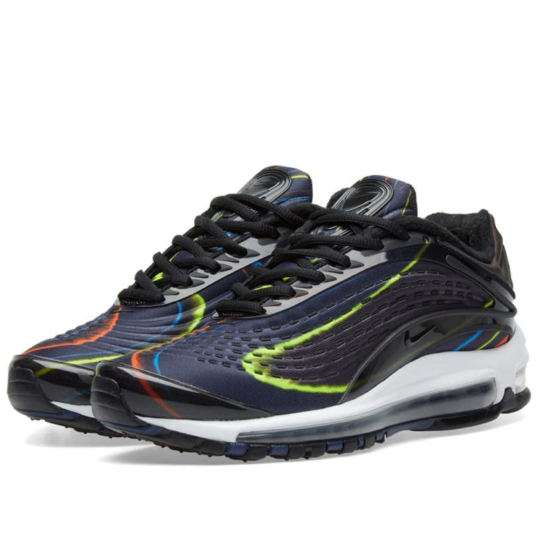 new product 368f4 42403 Nike Air Max Deluxe W Black, Navy  Silver 1