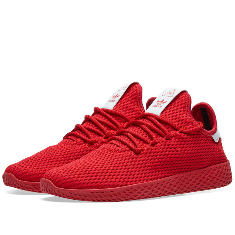 Adidas x Pharrell Williams Tennis HU Scarlet 1