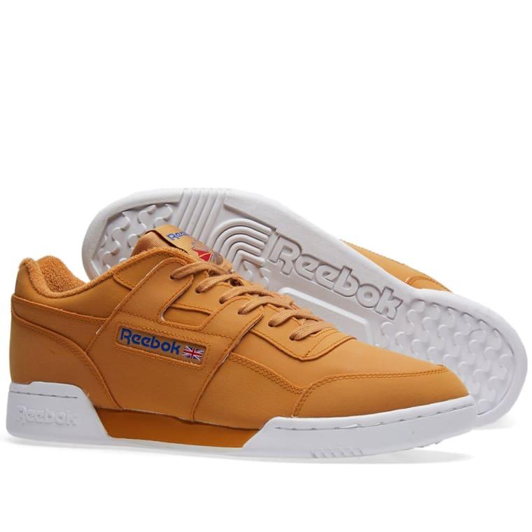 online store 260c0 8e1d0 Reebok x Packer Shoes Workout Lo Plus (Gum & White) | END.