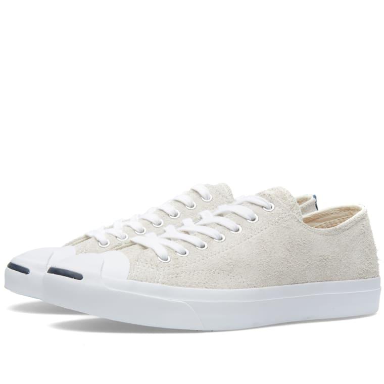 7fa10da4fb1a Converse Jack Purcell Suede (Vaporous Grey   White)