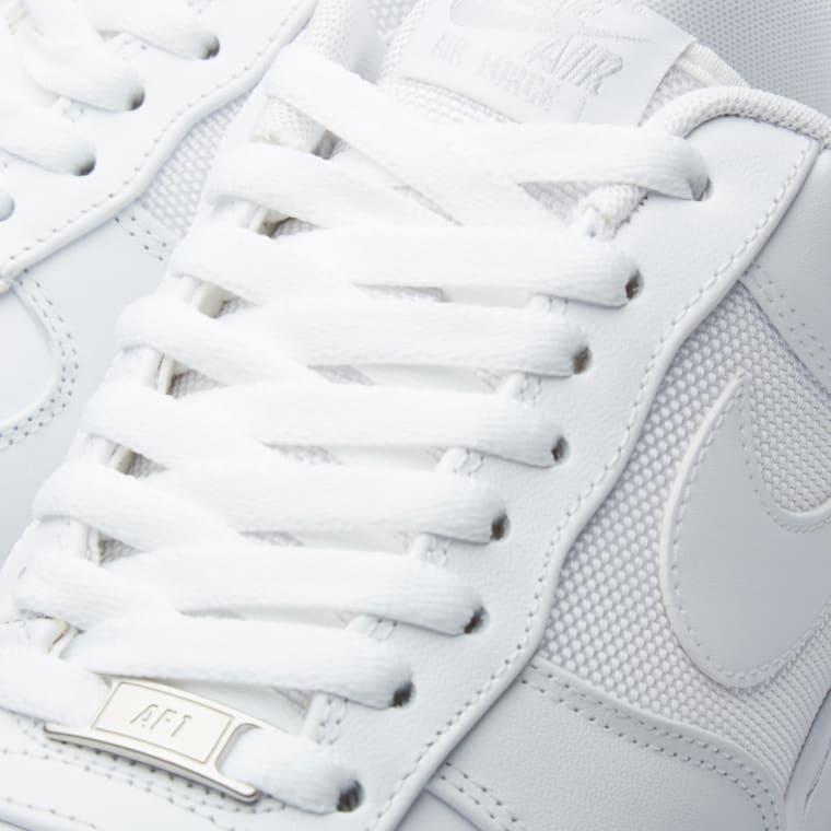 timeless design 98aac cc278 Nike Air Force 1 Elite White  Metallic Silver 4