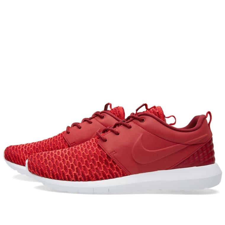 new zealand nike roshe flyknit premium red f7487 998c5