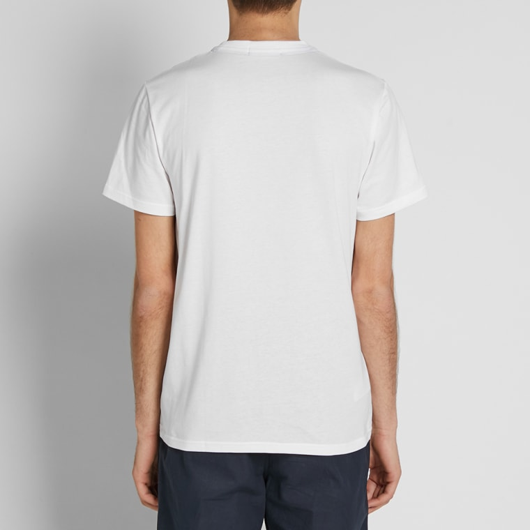 Fred Perry New Classic Crew Neck Tee  White  5