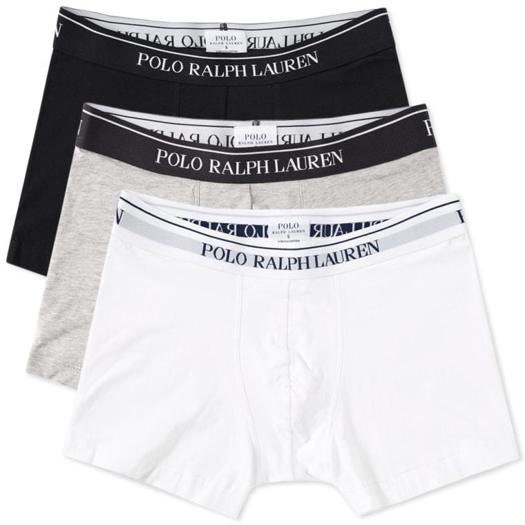 Trunks In 3 Pack - Black Polo Ralph Lauren