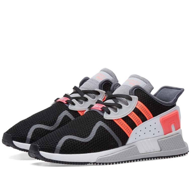 adidas EQT Cushion ADV Sneakers with Leather Gr. UK 11.5