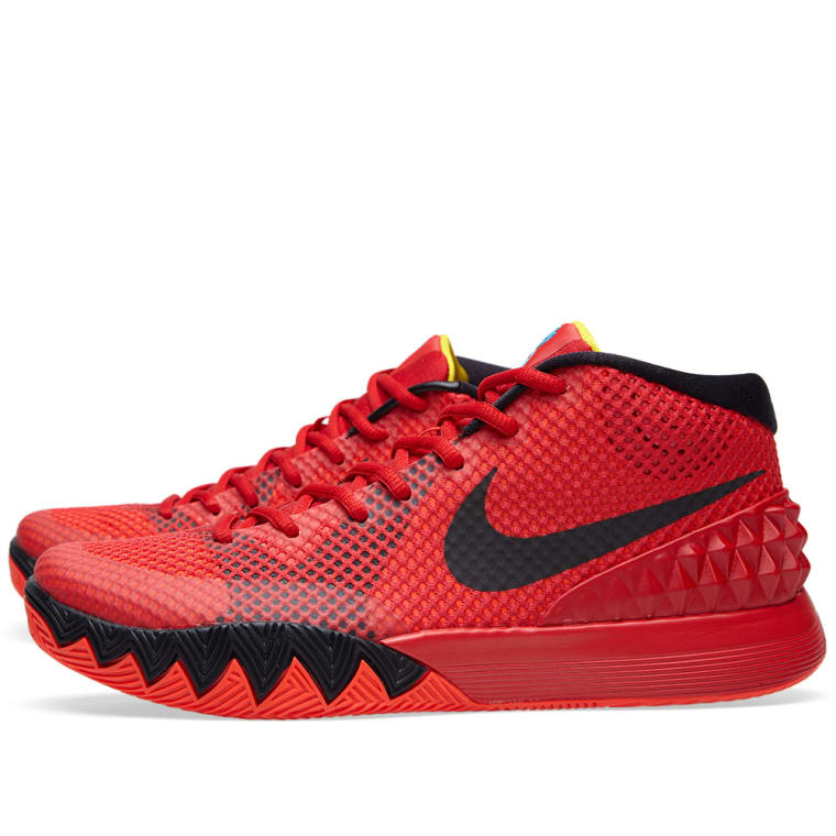 Nike Kyrie 1 \u0027Deceptive Red\u0027 Bright Crimson \u0026 Black 3