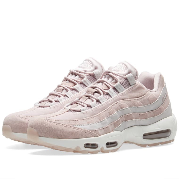 Nike Air Max 95 LX W Particle Rose, Grey  White 1