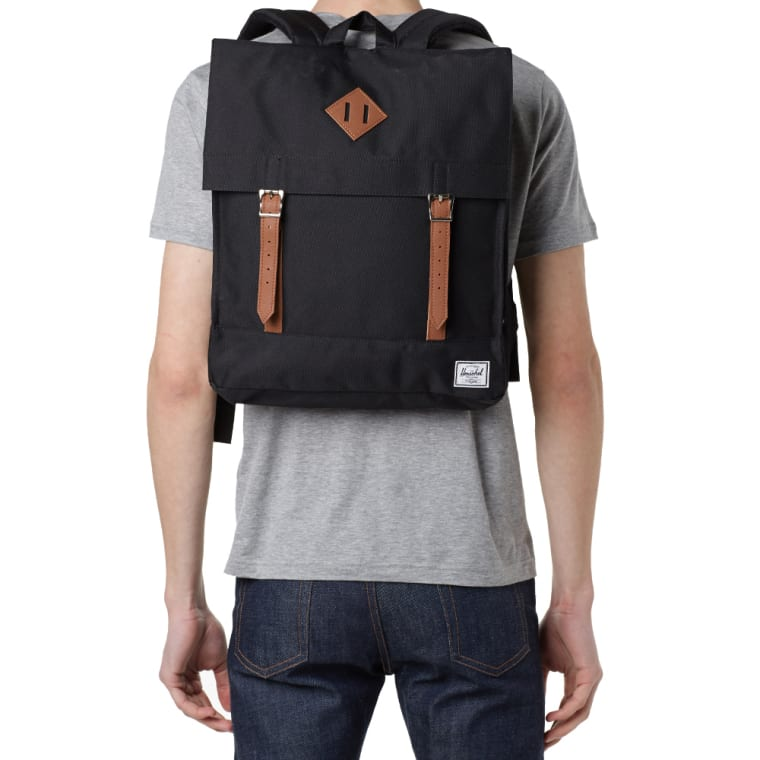 3fb86823375 Herschel Supply Co. Survey Backpack (Black   Tan)   END.